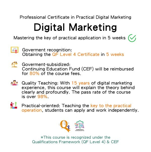 Professional Certificate in Practical Digital Marketing